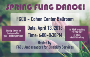 Spring Fling @ FGCU Cohen Center Ballroom | Fort Myers | Florida | United States