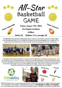 All-Star Basketball Game @ First Baptist Academy