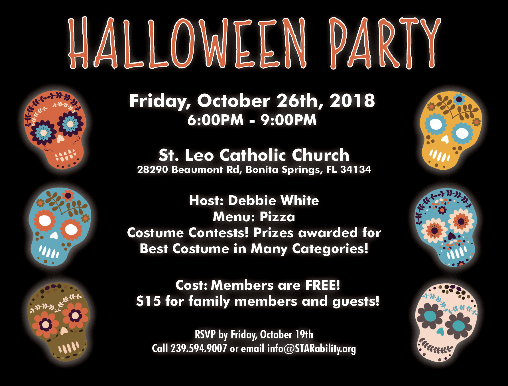 Halloween Party @ St. Leo Catholic Church
