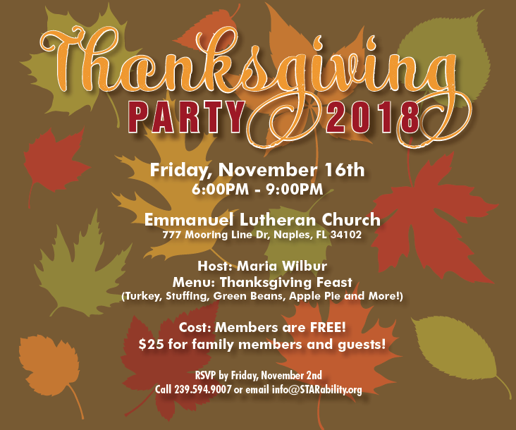 Thanksgiving Party @ Emmanuel Lutheran Church