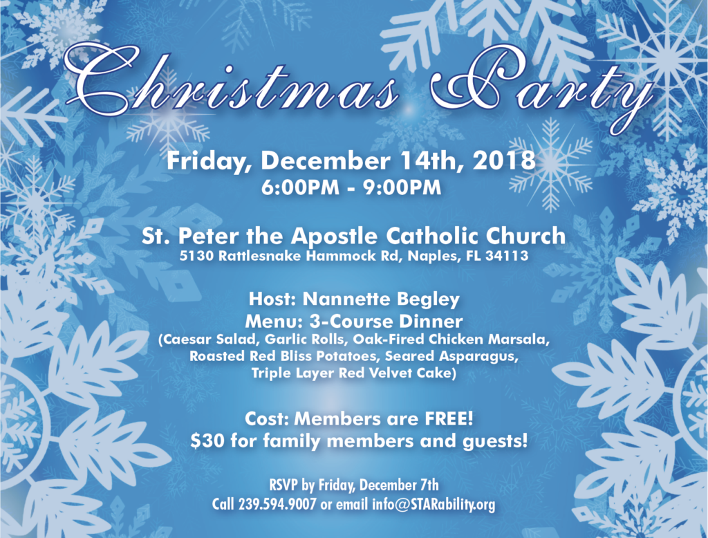 Christmas Party @ St. Peter Apostle Catholic Church