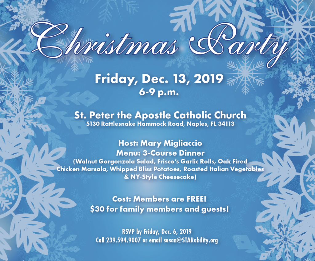 Christmas Party 2019 @ St. Peter Apostle Catholic Church