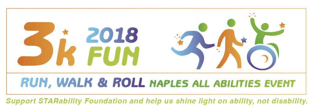 3K Fun Run, Walk & Roll @ Cambier Park