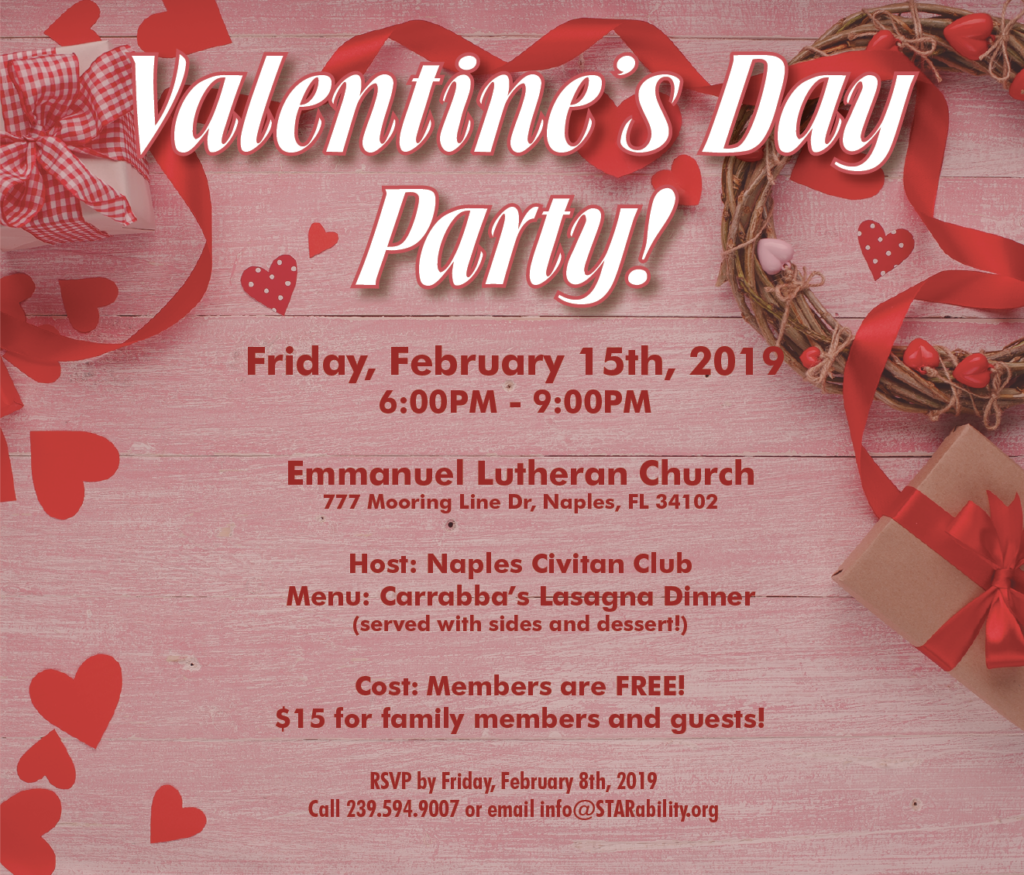 Valentine's Day Party @ Emmanuel Lutheran Church