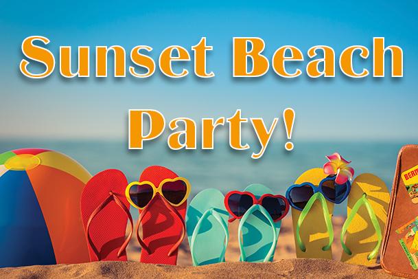 Sunset Beach Party @ Barefoot Beach