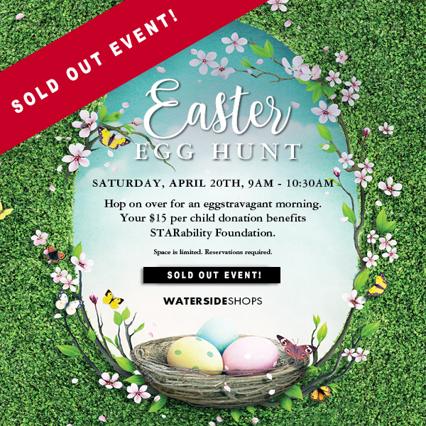 Waterside Easter Egg Hunt [SOLD OUT] @ Waterside Shops