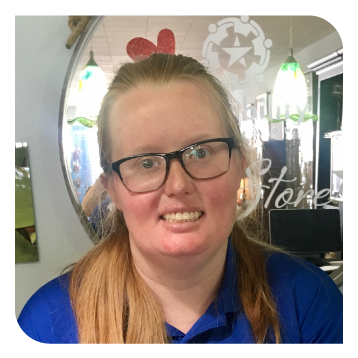 STARability Foundation STAR Store Staff Member Taylor Collins